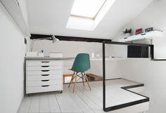 CPR attic refurbishment by +R Piuerre