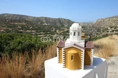 Crète - afiéroma  (chapelle bord de route)