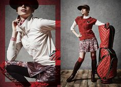 Golf Apparel  // 2014 Look by katsuyuki fujino, via Behance
