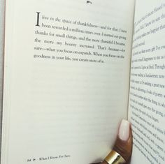 """From Oprah Winfrey's book, """"What I Know for Sure"""""""