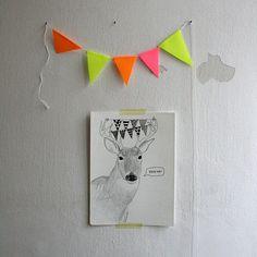 jelen má rád večírky / party dear Paintings, Paint, Painting Art, Painting, Painted Canvas, Drawings, Grimm, Illustrations