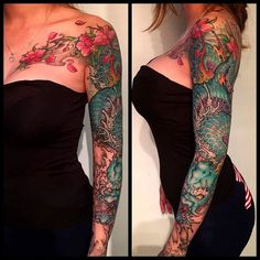 Sleeve #tattoo #KinkiRyusaki by Guan Xiao Peng