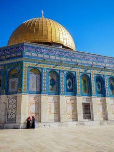 Mont du Temple, icône de la ville de Jérusalem en Israël.