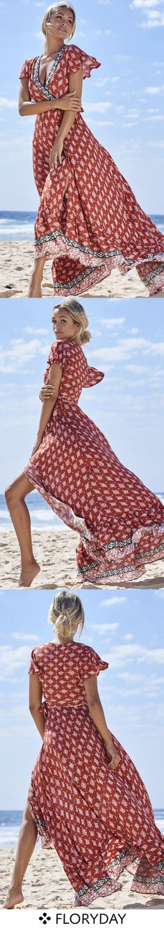 It's really intimidating to go on the beach in a floryday dress.