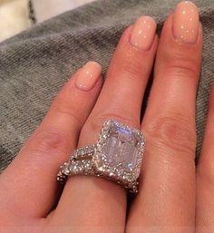Huge Engagement Ring Ring Bling Pinterest Engagement Rings