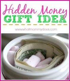 7 Creative Money Gift Ideas -