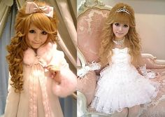Other off-shoots of Hime Gyaru include the Himejakki, still very princess and doll-like but style rules are more relaxed and the look is wearable on a daily basis. Description from messynessychic.com. I searched for this on bing.com/images