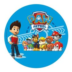 & Cake Decorating Paw Patrol Personalised Wafer Paper Topper For Large Cake Various Sizes & Garden Paw Patrol Theme Party, Paw Patrol Birthday Cake, Escudo Paw Patrol, Personajes Paw Patrol, Imprimibles Paw Patrol, Paw Patrol Stickers, Amazon Auto, Paw Patrol Cake Toppers, Cumple Paw Patrol