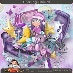 "Photo from album ""Chasing Clouds"" on Yandex. 1st Birthday Pictures, Digital Scrapbook Paper, Scrapbook Kit, Printable Paper, E Design, Overlays, Paper Art, Clouds, Album"