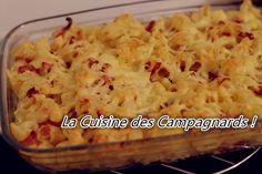 """Gratin de """"Macaronis"""" au Gouda !"""