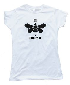 GOLDEN MOTH CHEMICAL BREAKING BAD CRYSTAL METHAMPHETAMINE - design silscreened onto a Gildan Softstyle white tee shirt for wowomen. Printed on 100% Ring-Spun Cotton and printed with water-based inks for ultra-softness. Euro style fit in neck shoulders and sleeves, Double needle sleeves and bottom hem. These shirts are comfortable, durable and super-soft 4oz cotton!
