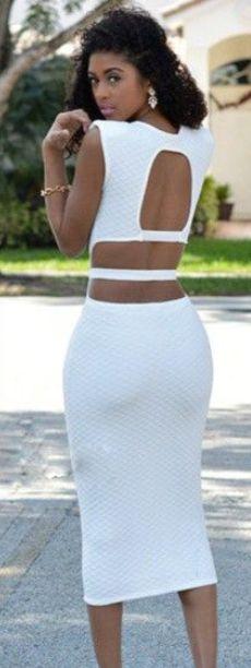 46377d4b65a9 Scoop Sleeveless Backless Elastic Long Dress Cute Skirts