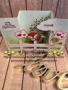 Seven days left until the end of Sale-a-bration and I thought I would showcase one last card using Hey Chick! I saw an interesting card fold in a You-Tube video, it was an SVG cut file by Lori Whit…