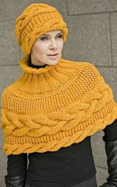 Gilet Crochet, Knit Shrug, Knitted Poncho, Knitted Shawls, Crochet Shawl, Easy Crochet, Knit Crochet, Crochet Cape, Capelet
