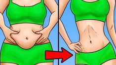 Only 2 Cups a Day for 1 Week for a Flat Stomach-How to get a flat stomach without dieting and exercising? How to slim your waist and get in shape fast? Here is a simple but effective way to lose belly fat just in a few weeks. We checked – it wor… Burn Stomach Fat, Burn Belly Fat, Flat Stomach, Flat Tummy, Flat Belly, Fitness Workouts, Easy Workouts, Lose 5 Pounds, Losing 10 Pounds