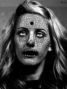Masks #weird #illustation #photo