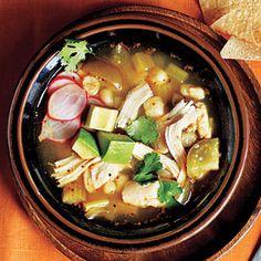 50 Rotisserie Chicken Recipes | Superfast Chicken Posole | CookingLight.com