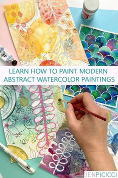 Have you ever wanted to DIY modern watercolor abstracts? Then this class is for you! Paint four abstract paintings with watercolor artist Jen Picicci, all while learning tips and techniques so you'll know exactly what to do moving forward. Tap into your creative soul and never lose your spark again!