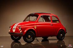 Custom built Fiat 500. Designed and built by Kindig-it Design.
