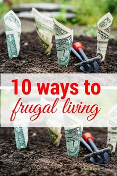 10 Ways to Immerse Yourself in Frugal Living