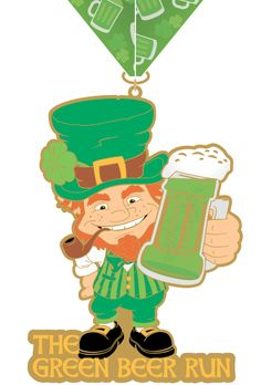 The Green Beer Virtual Run - http://www.willrunforbling.com/the-green-beer-run/