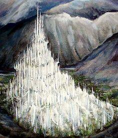 Gondolin   En esta Ciudad se crearon: Glamdring, la espada de Turgon, más tarde blandida por Gandalf; Orcrist, la Espada de Ecthelion, Señor de las Fuentes más tarde blandida por Thorin Escudo de Roble; Dardo, una daga blandida por Bilbo Bolsón y luego por su sobrino Frodo , y finalmente, la Elessar, la «Piedra de Elfo» que fue dada a Aragorn en Lothlórien en 3018 de la Tercera Edad.