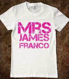 Mrs James Franco
