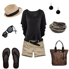 love this whole ensemble. Vacation clothes
