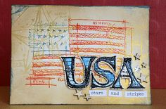 Created by May for the Stripes Challenge at Simon Says Stamp and Show. June 2013