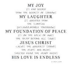 ~My Joy~ By Ernie Kasper #words   #worship   #poetry   #poem   #statement   #faith   #randomthoughtsofaservant