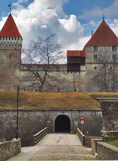 Bishop's Castle, Kuressaare, Saaremaa, Estonia