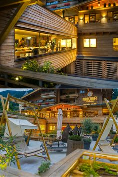 The Alpin Juwel is the lifestyle hotel in Saalbach Hinterglemm, in Salzburger Land. The perfect wellness hotel & sports hotel for summer and winter. Relax, Ski Slopes, Night Light, Austria, Hammock, Terrace, Skiing, Romantic, Cabin