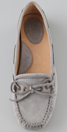 Frye mocs for her