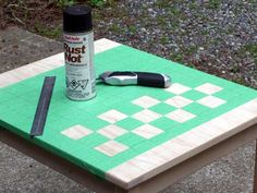 svala checkerboard: making the template