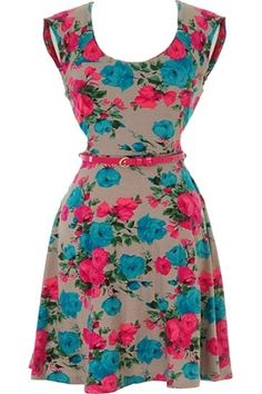 Seasonal Flourish Dress