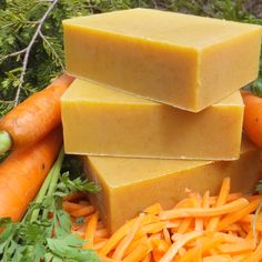 Natural carrot juice, carrot root and seed oils, goat milk and raw honey create a gentle, unscented, nutritious complexion soap. Organic Bar Soap, Organic Coconut Oil, Unscented Soap, Glycerin Soap, Castile Soap, Cellulite Wrap, Carrot Seeds, Carrot Soup, Honey Soap