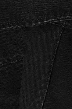 Balenciaga - Oversized Denim Shirt - Black - FR44
