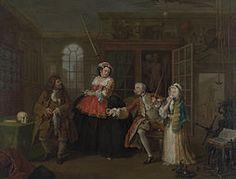 William Hogarth, Marriage a la mode olio su tela, National Gallery, Londra William Hogarth, Jane Austen, Banksy, Oil On Canvas, Canvas Prints, Wall Art Prints, National Gallery, Grafiti, Art Database