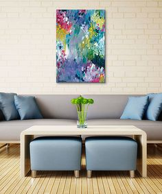 Look what I found on #zulily! Amira Rahim Dancing in the Rain Gallery-Wrapped Canvas #zulilyfinds