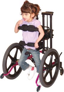 Kidwalk is a design that allows children to  independently explore the environment through self-initiative movements. The equipment supports lateral weight shift during ambulation with the design of bounce and sway, hence to mimic natural gait patterns. It also provides hands free mobility.