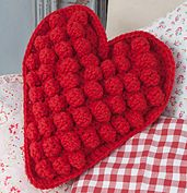 Ravelry: Have a Heart Cushion pattern by Frederica Patmore