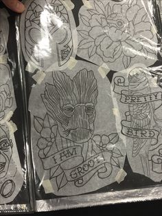 baby groot tattoo i finished today tattoos ideas pinterest tattoo. Black Bedroom Furniture Sets. Home Design Ideas