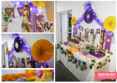 Rapunzel - Enredados Birthday Party Ideas | Photo 14 of 20 | Catch My Party