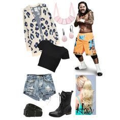 """Date Night with Jey Uso"" by alyclairmusiclover84 on Polyvore"