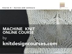Machine Knit Online Course