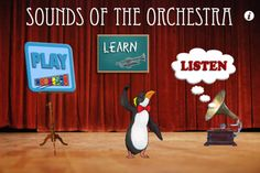 Sounds of the Orchestra is a fun way for children, parents, teachers, and anyone with an interest in music to learn about the classical musical instruments that comprise the orchestra.     -Play a card matching game to test your memory and listening skills by pairing instruments by picture and sound.  -Tap on the colorful soundboard to learn the sounds of each instrument, or quiz yourself to train your ear to recognize them.  -Explore the four sections of the orchestra...