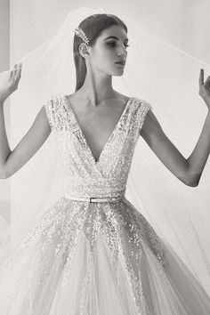 View the complete Elie Saab bridal Fall 2017 collection.                                                                                                                                                                                 More