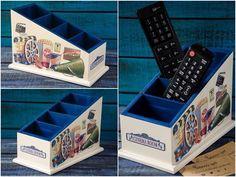 TV kumandasını kaybetmekten yoruldunuz mu? Bu ürün tam sizin için❣☺️ Tired of losing your TV remote? We make you nice Remote Control Holder❣ #woodygift #elyapımı #handmade #homedecor #Ev #evdekoru#evdekorasyonu #ahşapboyama #ahsapboyama #istanbul#turkey #mavi #blue #craft #tv #remote #holder #kumanda #cinema #room #appletv #hollywood #movie #movienight #decor #style #instaart #lovehandmade #diy