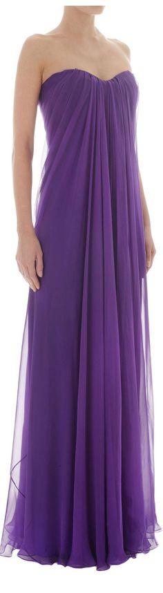 Lavender ~ Purple Essence ✦ Alexander McQueen, Purple Gown