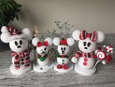 Disney is my love language on Our snow mouse family Disney Christmas Crafts, Disney Christmas Decorations, Mickey Christmas, Disney Crafts, Holiday Crafts, Christmas Holidays, Christmas Gifts, Spring Crafts, Disney Art